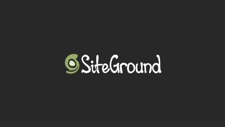 SiteGround screenshot